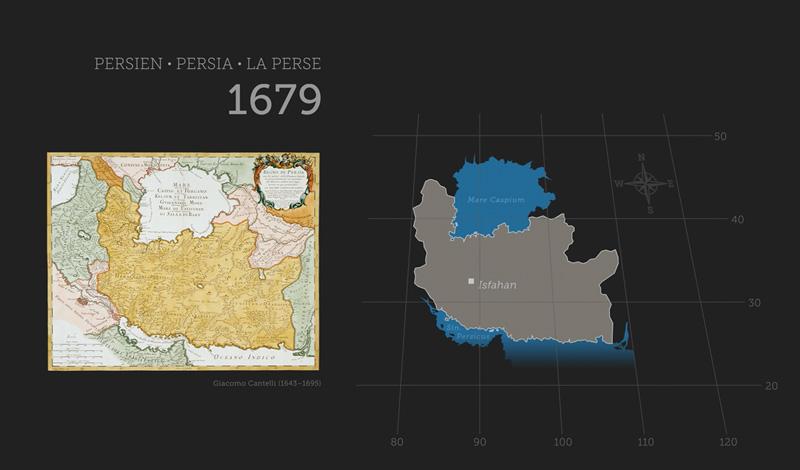 Persien-Karte