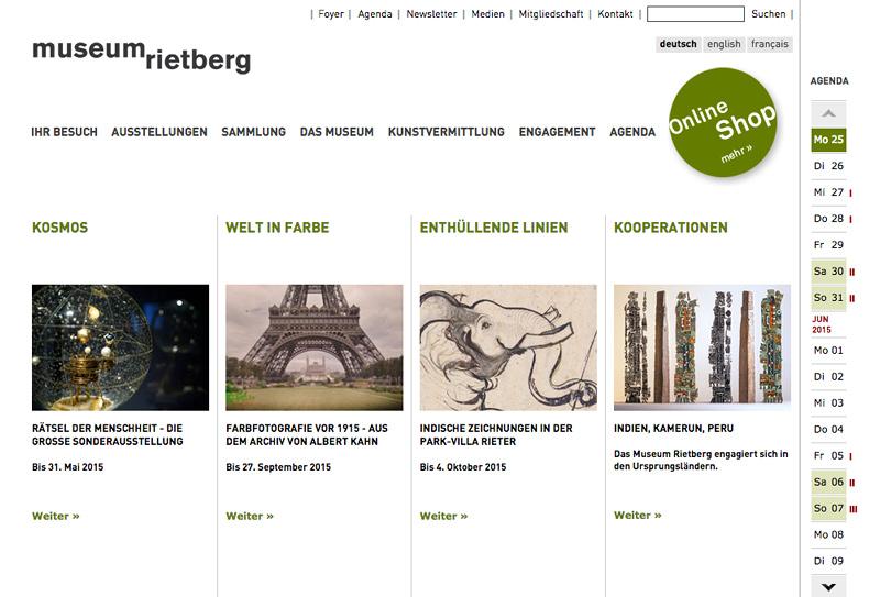 Museum Rietberg (Website)